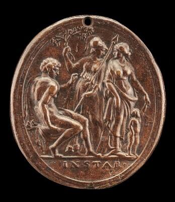 Hercules between Minerva and Venus