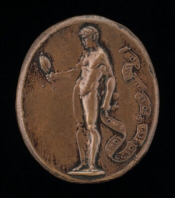 Allegorical Male Figure