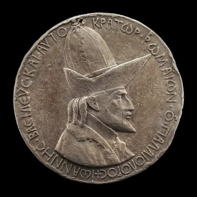 John VIII Palaeologus, 1392-1448, Emperor of Constantinople 1425 [obverse]