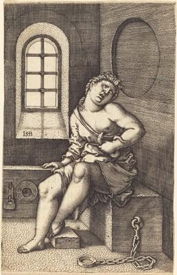 Cleopatra Seated