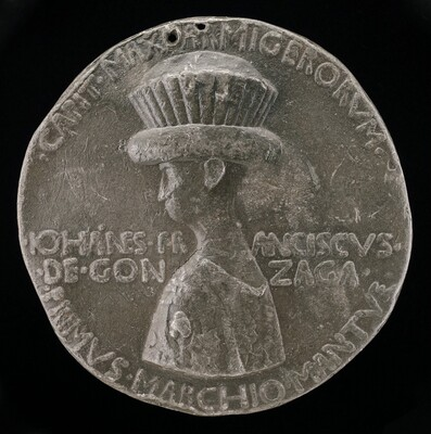 Gianfrancesco I Gonzaga, 1395-1444, 1st Marquess of Mantua 1433 [obverse]