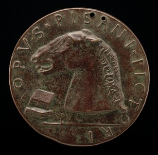 Charger, Books, and Sword [reverse]