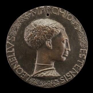 Leonello d'Este, 1407-1450, Marquess of Ferrara 1441 [obverse]
