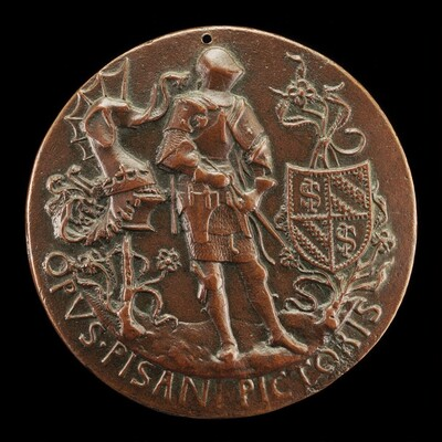 Sigismondo Armed and Holding a Sword [reverse]