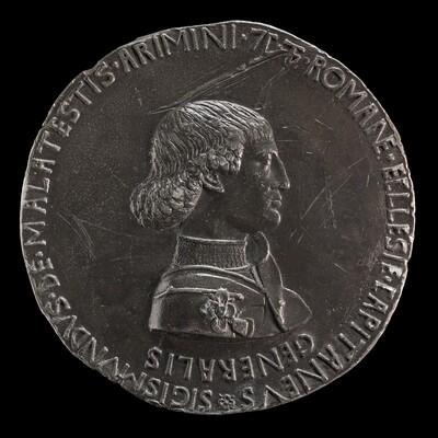 Sigismondo Pandolfo Malatesta, 1417-1468, Lord of Rimini 1432 [obverse]