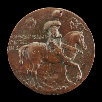 The Marquess in Armor, Riding [reverse]