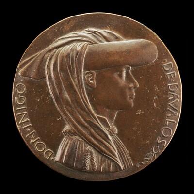 Don Iñigo d'Avalos, d. 1484, Grand Chamberlain of Naples 1449 [obverse]