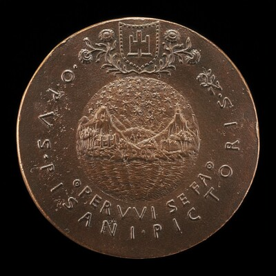 Sphere Representing Earth, Sea, and Sky [reverse]