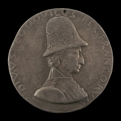 Louis XI, 1423-1483, King of France 1461 [obverse]