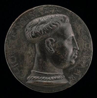 Niccolo III d'Este, 1383-1441, Marquess of Ferrara 1393 [obverse]