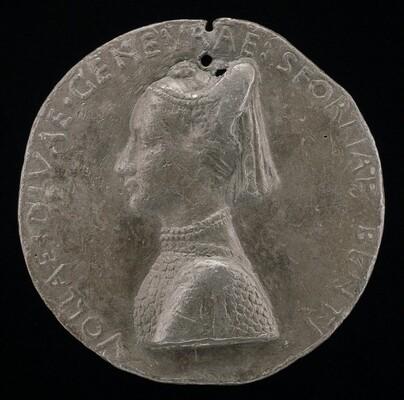 Ginevra Sforza, 1442-1507, Wife of GIovanni II Bentivoglio 1464