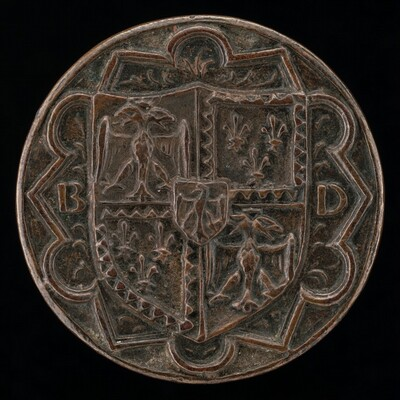 Shield of Este on Floriated Ground [reverse]