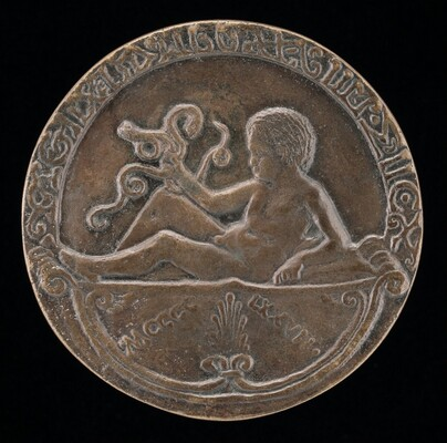 Alfonso as Infant Hercules [reverse]