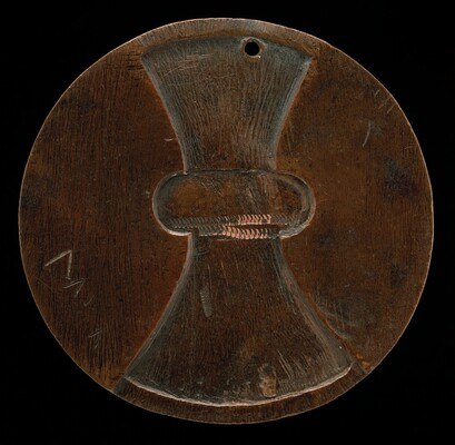 Object Resembling Double Axe-head [reverse]