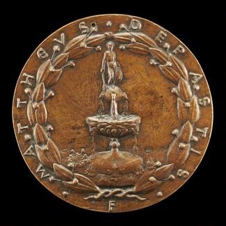 Fountain Surmounted by a Nude Male Figure [reverse]