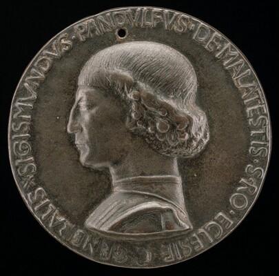 Sigismondo Pandolfo Malatesta, 1417-1468, Lord of Rimini and Fano [obverse]
