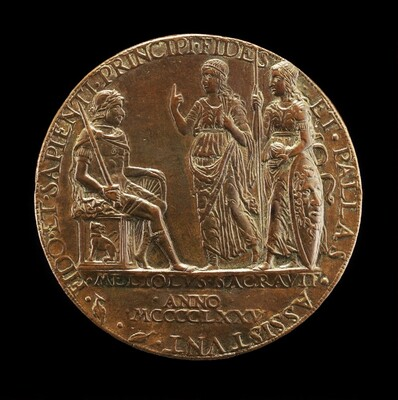 The Marquess of Mantua with Faith and Pallas [reverse]