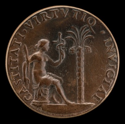 Figure before a Palm Tree [reverse]