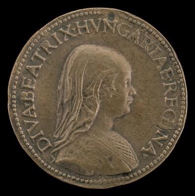 Beatrice of Aragon, 1457-1508 [obverse]