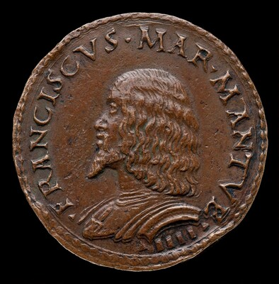 Francesco II Gonzaga, 1466-1519, 4th Marquess of Mantua 1484 [obverse]
