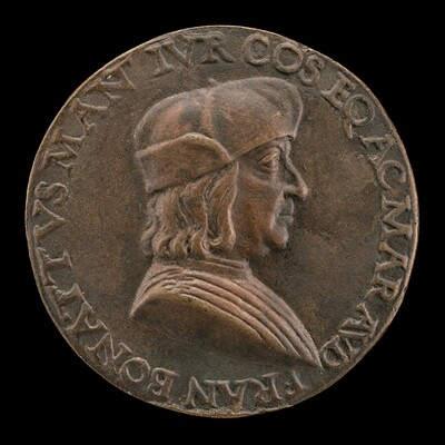 Francesco Bonatti, Mantuan Lawyer [obverse]