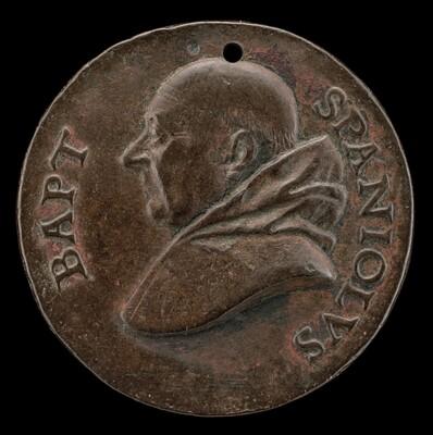 Battista Spagnoli of Mantua, 1447-1516, Carmelite Poet [obverse]