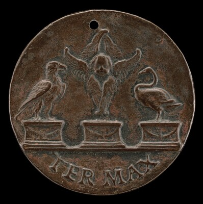 Cherub, Swan, and Eagle [reverse]