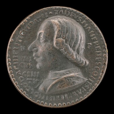 Taddeo di Guidacci Manfredi I, Count of Faenza and Lord of Imola 1449 [obverse]