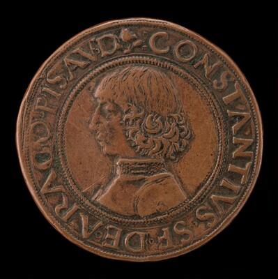 Costanzo Sforza, 1447-1483, Lord of Pesaro 1473 [obverse]