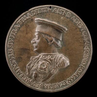Federigo da Montefeltro, 1422-1482, Count of Urbino 1444, and Duke 1474 [obverse]