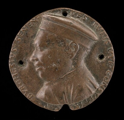 Borghese Borghesi, 1414-1490, Jurisconsult of Siena [obverse]