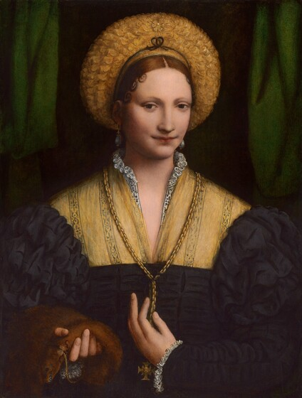 Bernardino Luini, Portrait of a Lady, 1520/15251520/1525