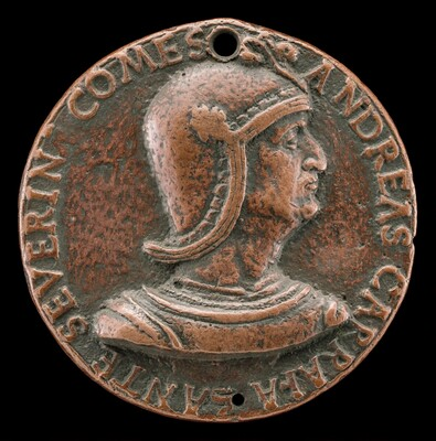 Andrea Caraffa, died 1526, Count of Santa Severina and Viceroy of Naples [obverse]