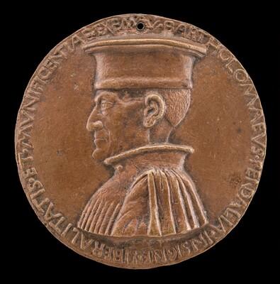 Bartolommeo Pendaglia, died 1462, Merchant of Ferrara [obverse]