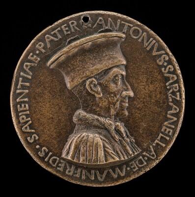 Antonio Sarzanella de' Manfredi, Este Diplomat [obverse]