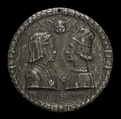 Ercole I d'Este, 1431-1505, Duke of Ferrara, and Eleonora of Aragon, 1450-1493, His Wife 1473