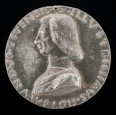Sigismondo d'Este, 1433-1507, Son of Niccolo III d'Este [obverse]