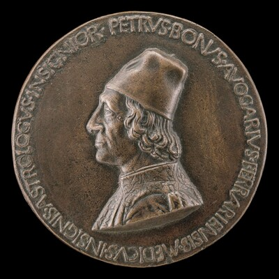 Pietro Bono Avogario, 1425-1506, Physician and Astrologer [obverse]