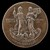 Aesculapius, Standing on a Dragon, and Urania on a Globe [reverse]