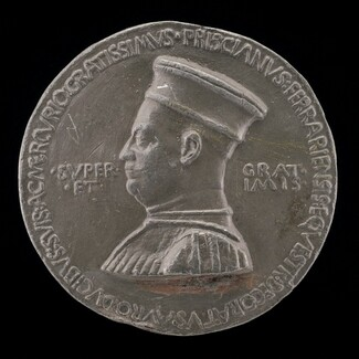 Pellegrino Prisciani, c. 1435-1518, Man of Letters and Agent of the Estensi [obverse]