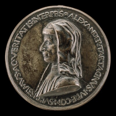 Alessandro Tartagni, 1421-1477, Lawyer [obverse]