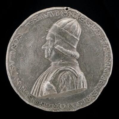 Andrea Barbazza, died 1480, Legal Adviser [obverse]