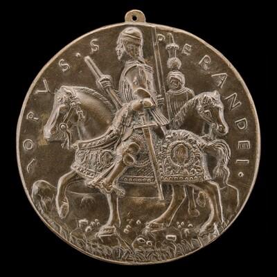 Giovanni II Bentivoglio and Squire [reverse]