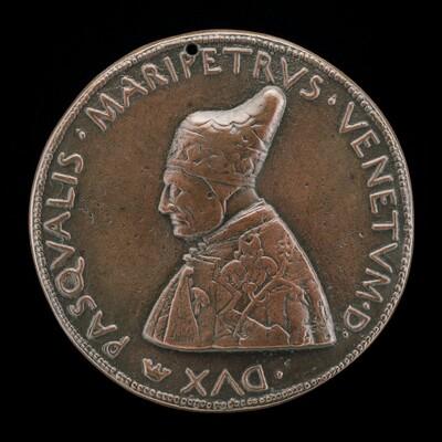Pasquale Malipiero, 1385-1462, Doge of Venice 1457 [obverse]