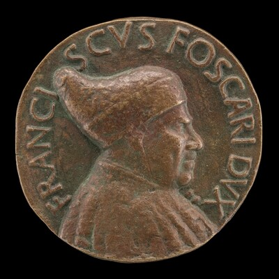 Francesco Foscari, c. 1374-1457, Doge of Venice 1423 [obverse]