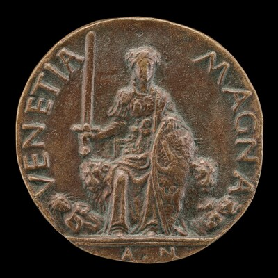 Venetia and Two Furies [reverse]
