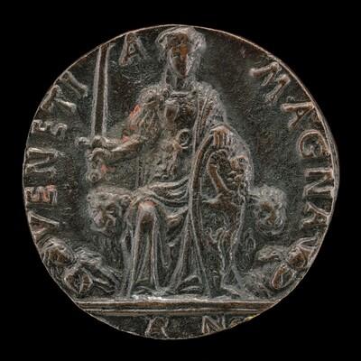 Venetia and Two Furies [reverse]