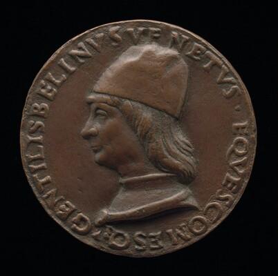 Gentile Bellini, 1429-1507, Venetian Painter [obverse]