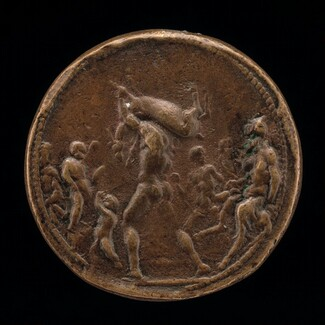 Classical Subject: Male Figure Carrying a Stag [obverse]