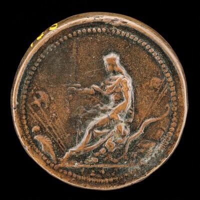 Venetia on Throne [reverse]